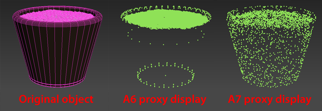 proxy display