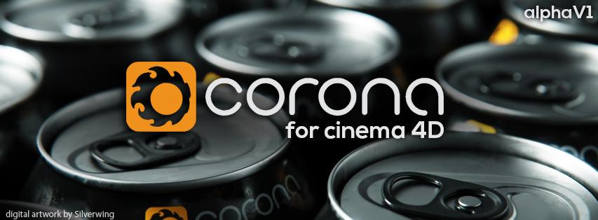 Corona C4D AlphaV1 Logo