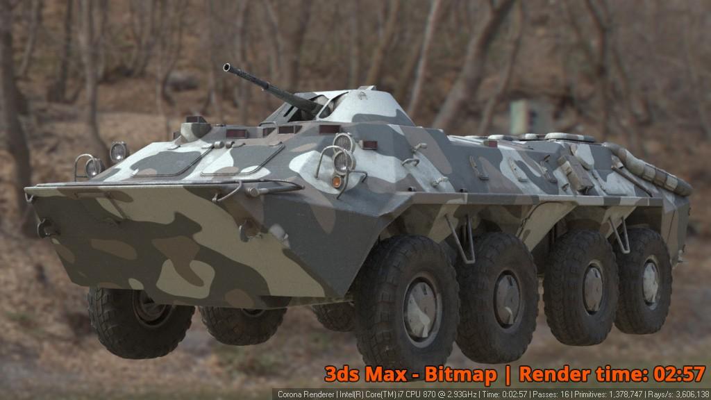 Corona Renderer - 3ds Max Bitmap - BTR