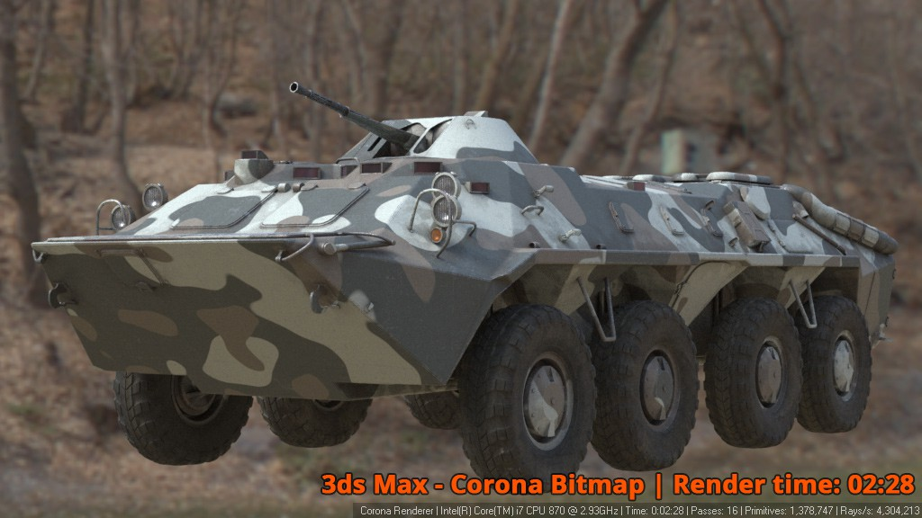 Corona Renderer - Corona Bitmap - BTR