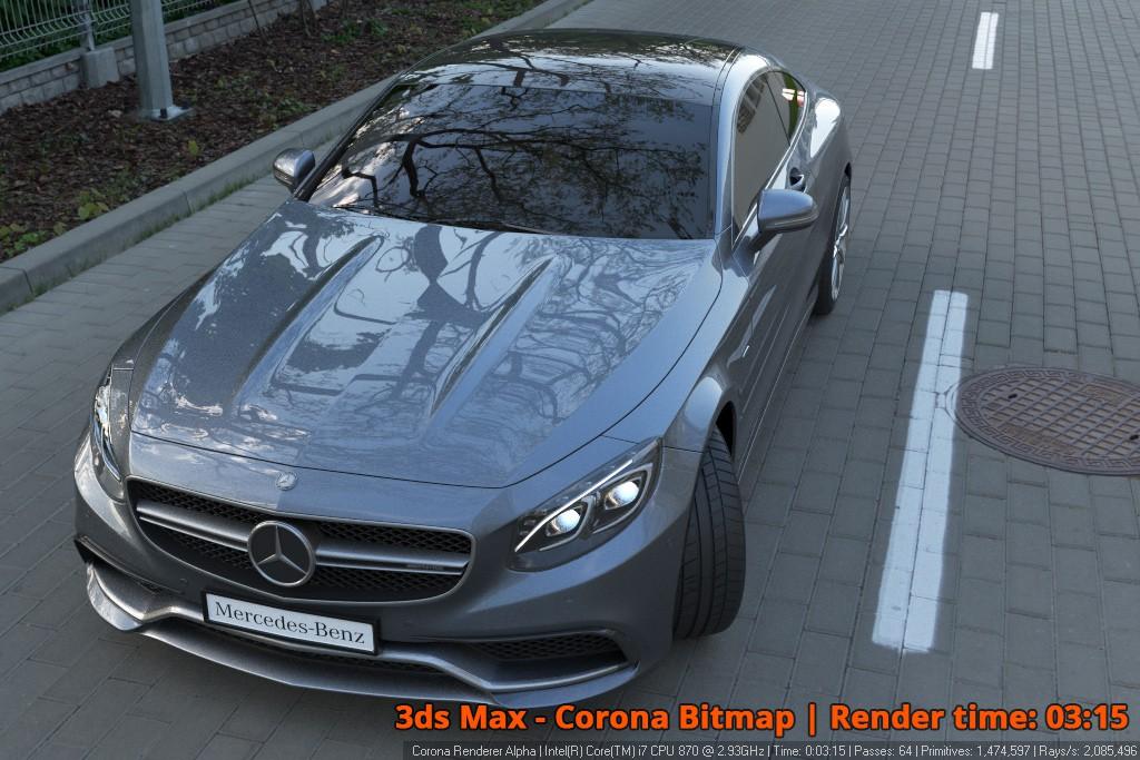 Corona Renderer - Corona Bitmap - Car