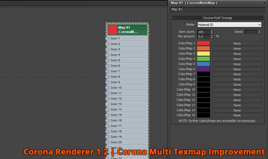 Corona Renderer - Corona Multimap Texmap Improvement
