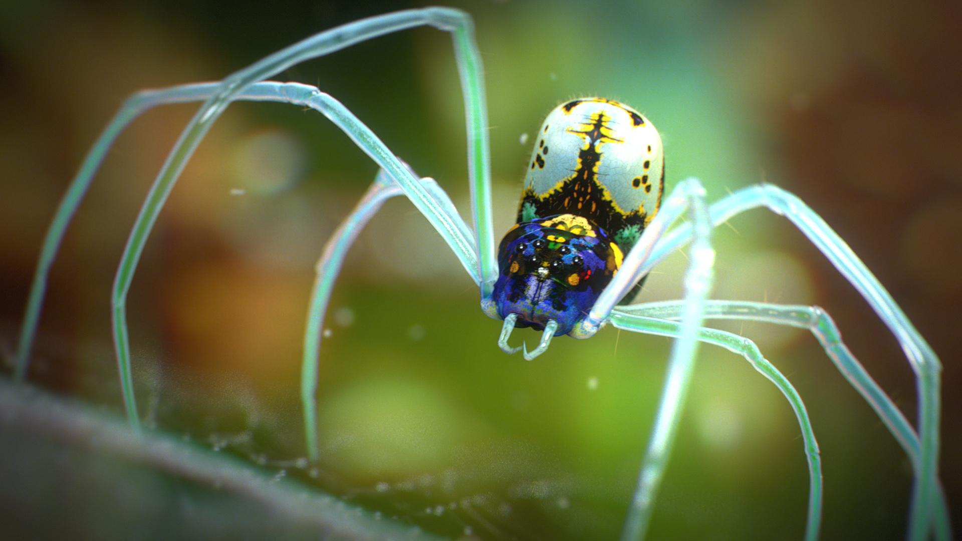 Corona Renderer - Tendril - Spider