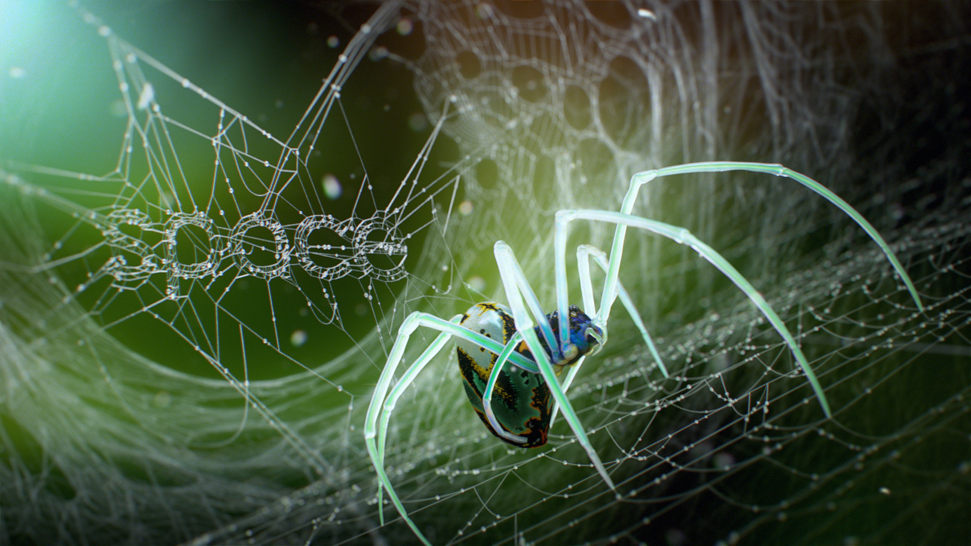 Corona Renderer - Tendril - Spider2