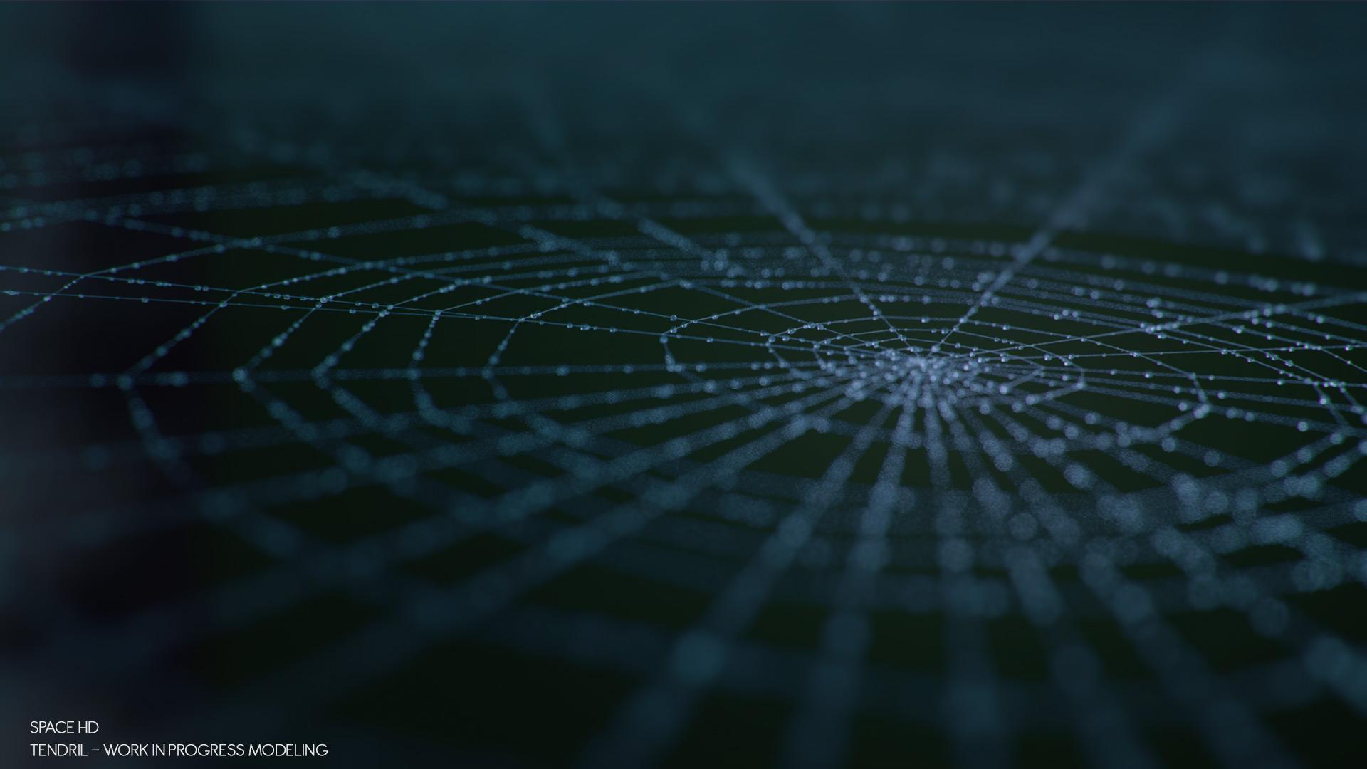 spider_lookdevCorona Renderer - Tendril - Spider - web