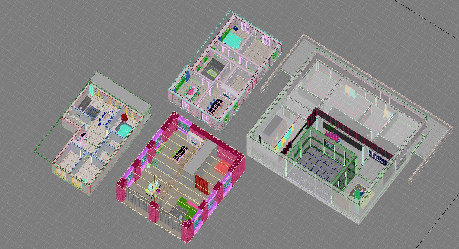 Corona Renderer - Xoio - Floor Plans