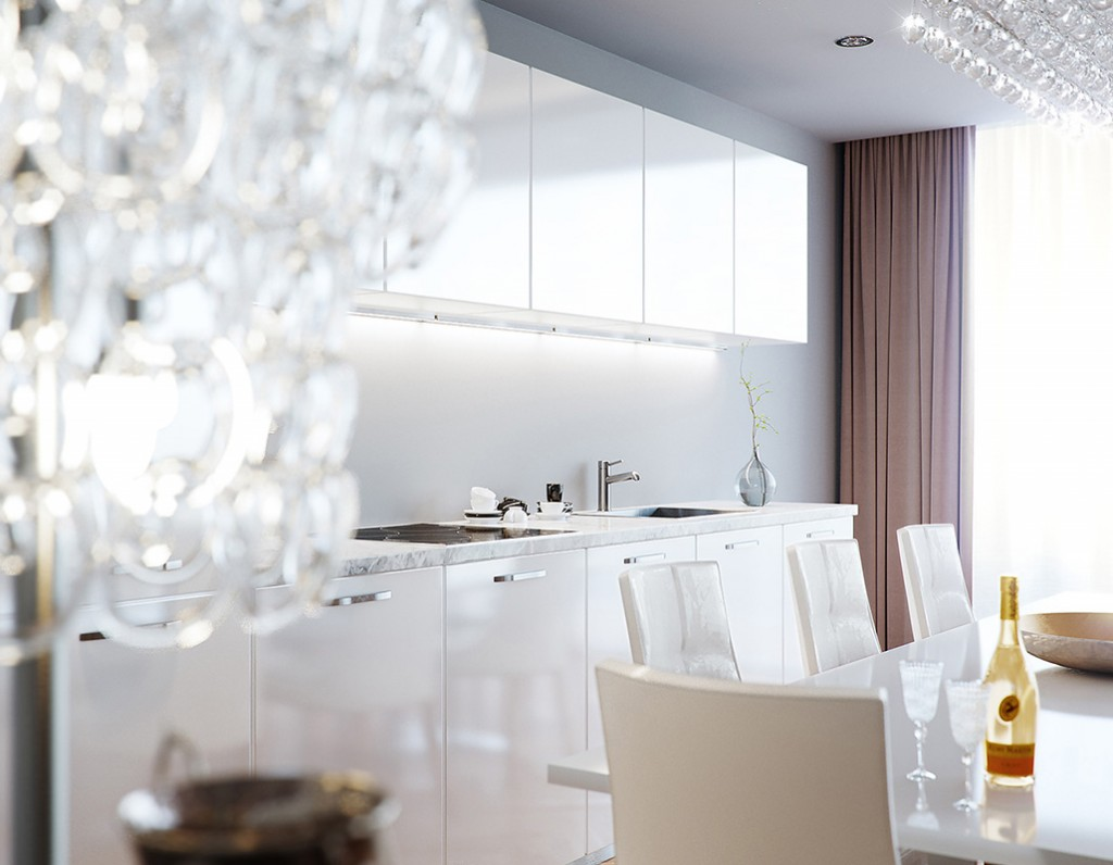 Corona Renderer - Eduard Caliman - Luxurious Living Room 4