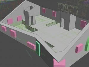 Corona Renderer - Francesco Legrenzi - Mountain Home Boolean Setup