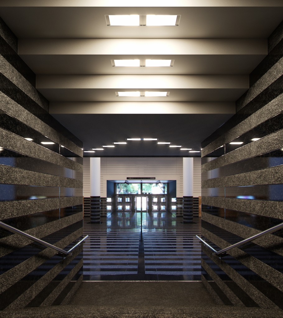Museum of Modern Art - Guillermo LLaguno - Corona Renderer 7
