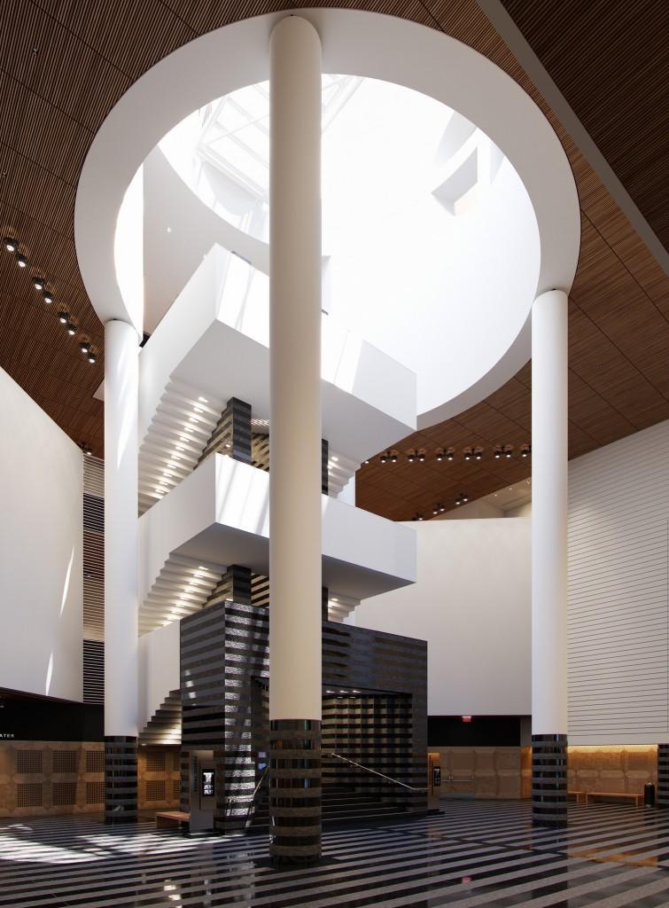 Museum of Modern Art - Guillermo LLaguno - Corona Renderer 4