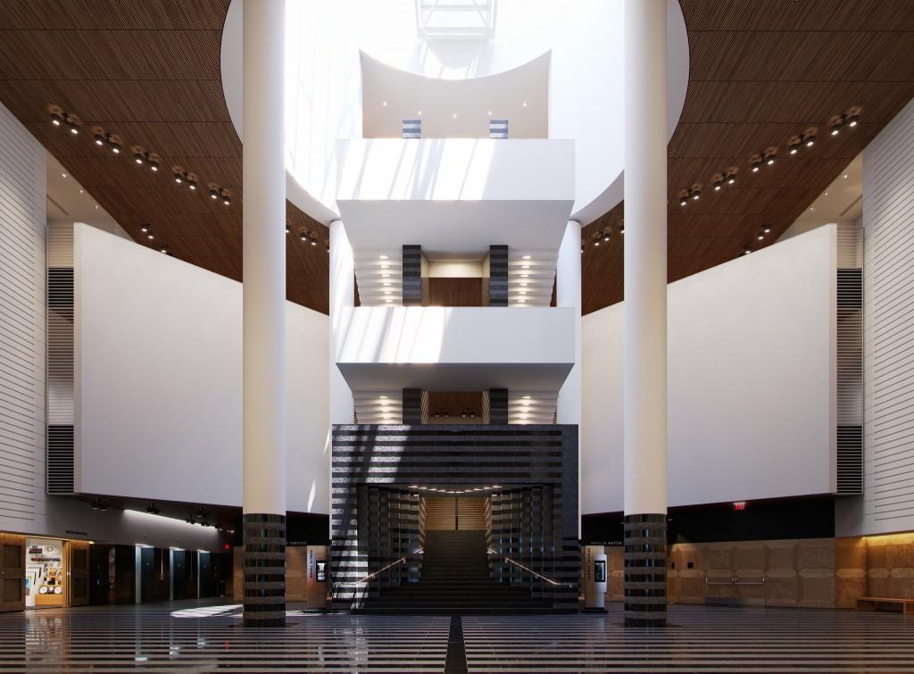 Museum of Modern Art - Guillermo LLaguno - Corona Renderer 1