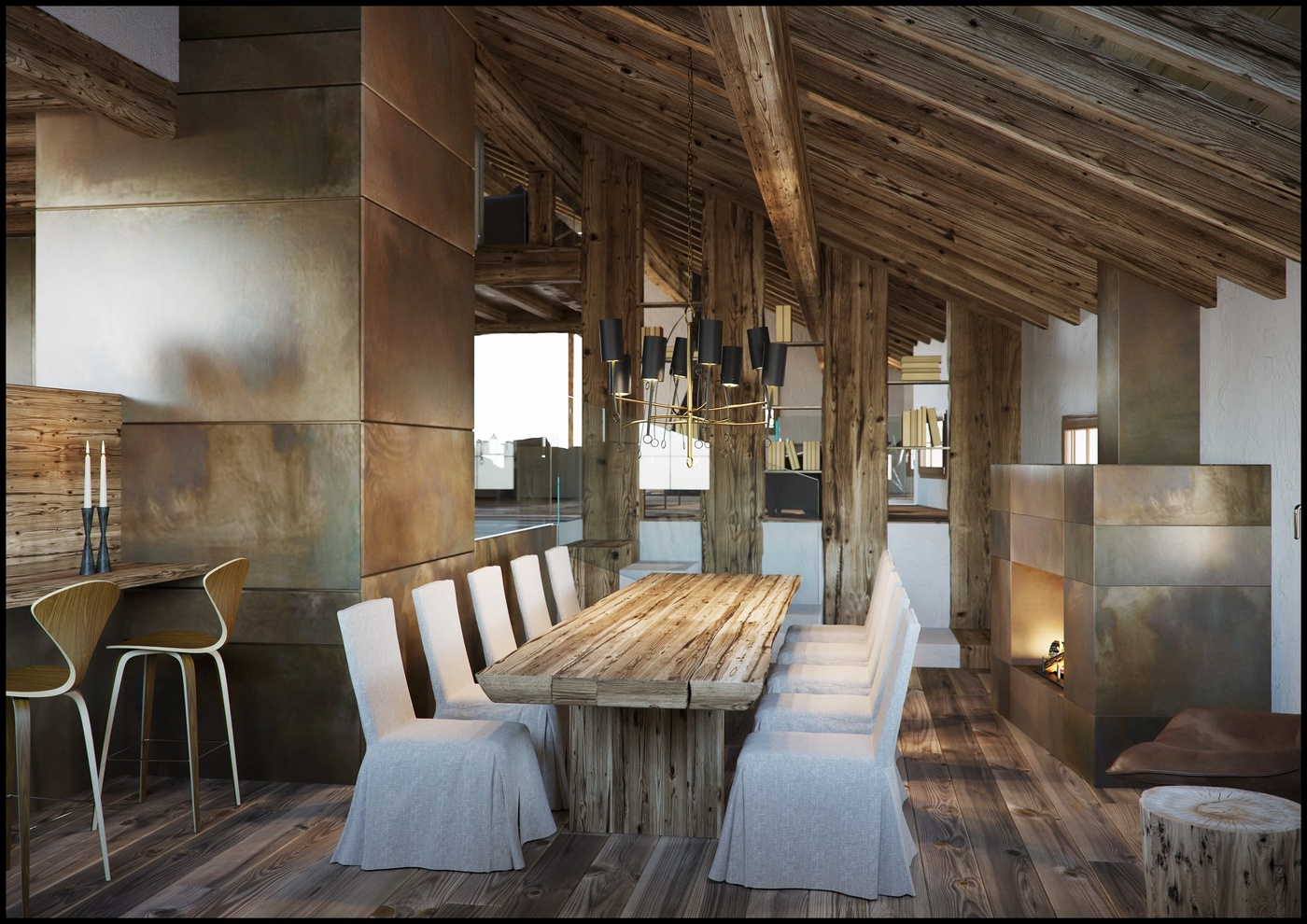 Francesco Legrenzi The Making Of A Mountain Home Interior Corona