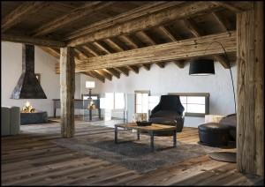 Corona Renderer - Francesco Legrenzi - Mountain Home Delivered Image 05