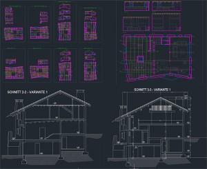 Corona Renderer - Francesco Legrenzi - Mountain Home CAD Plans