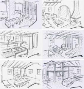 Corona Renderer - Francesco Legrenzi - Mountain Home Source Drawing