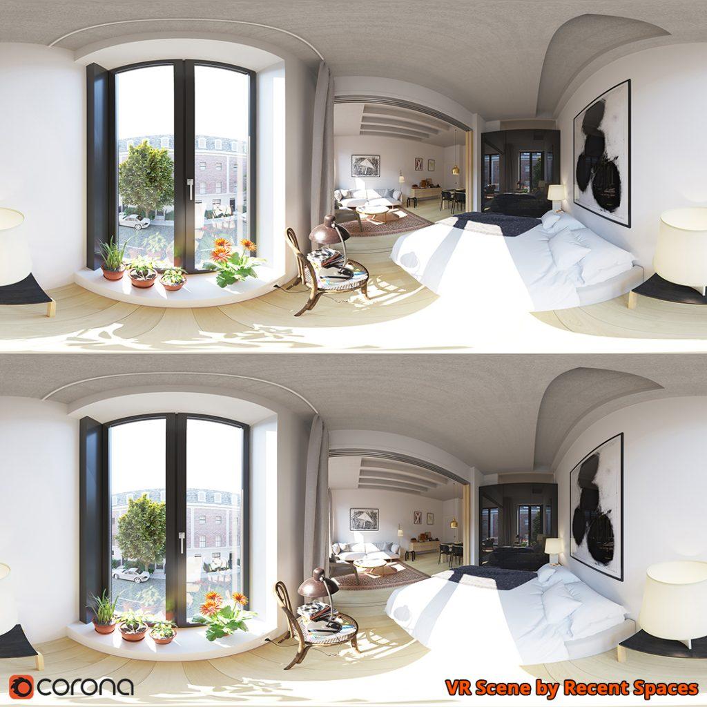 Corona Renderer - VR scene by Recent Spaces