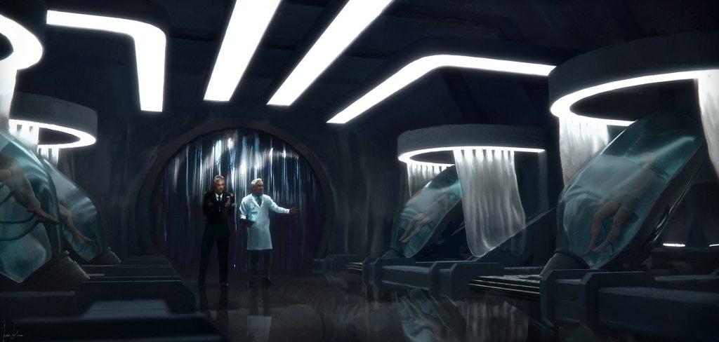 Josu Solano - Cloning Room final - Corona Renderer