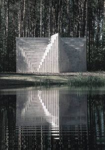 Reference of Sol Lewitt installation at Europos Parkas