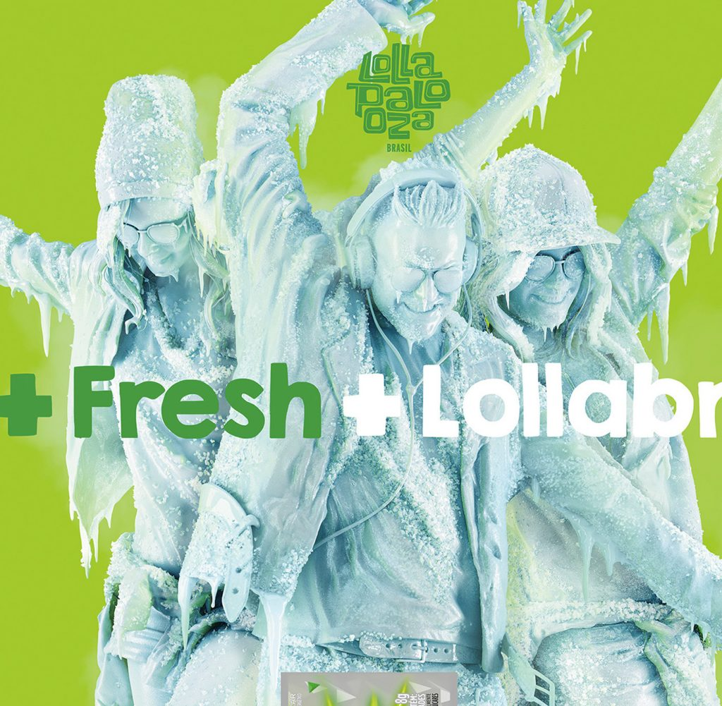Romeu&Julieta Trident Lollapalooza Campaign Image 1