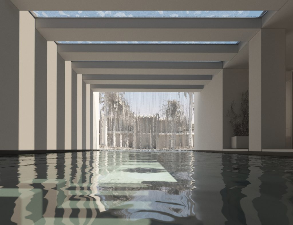 SO-ON Riyadh Residence Clay with waterfall