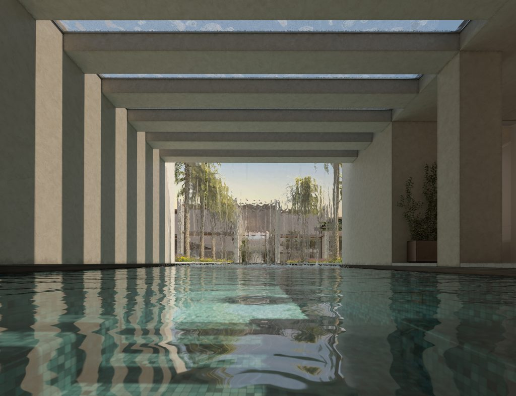 SO-ON Riyadh Residence Raw render