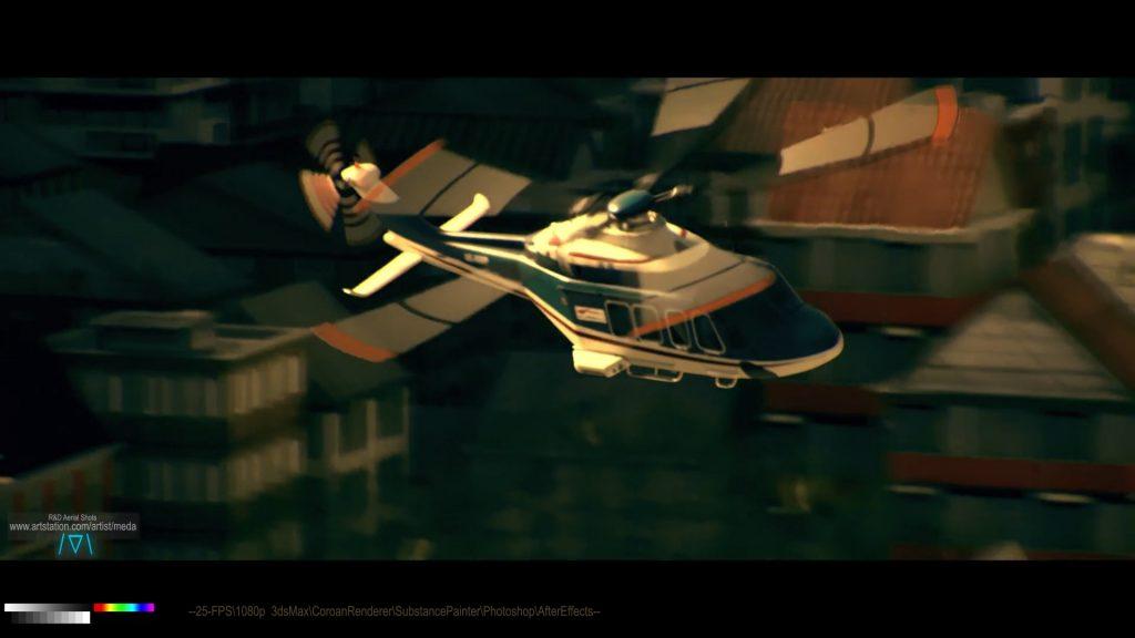 Meda Helicopter Frame02