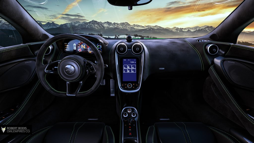Robert Bodis Owlempires McLaren 570S Interior