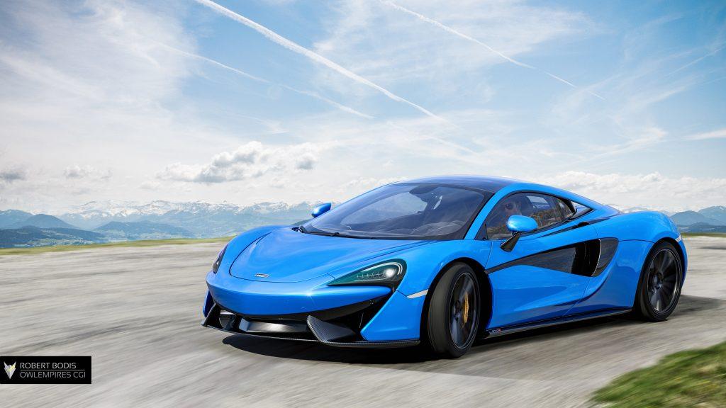 Robert Bodis Owlempires McLaren 570S CGI
