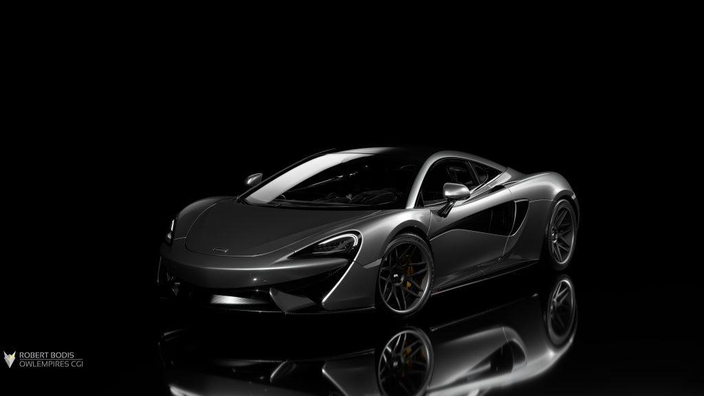 Robert Bodis McLaren 570S CGI