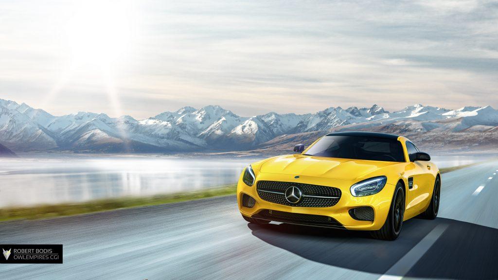Robert Bodis Owlempires Mercedes AMG GT S CGI