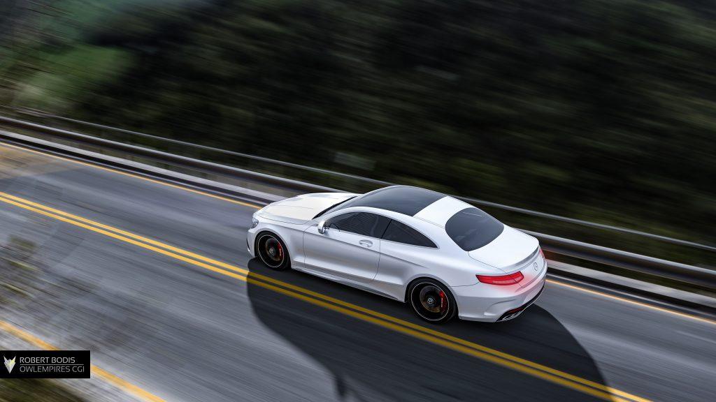 Robert Bodis Owlempires Mercedes Benz AMG S63 CGI