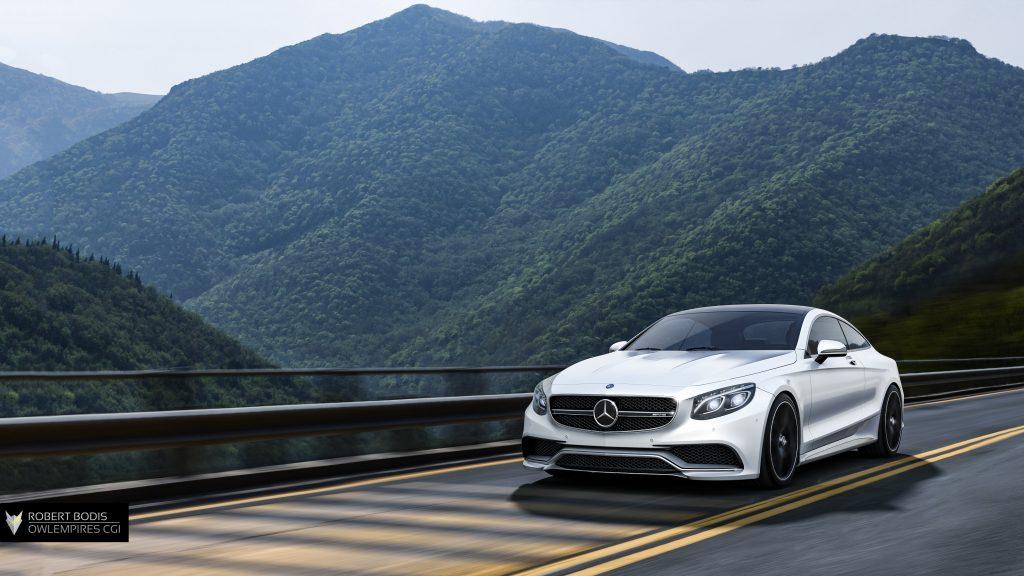 Rober Bodis Owlempires Mercedes S63 CGI