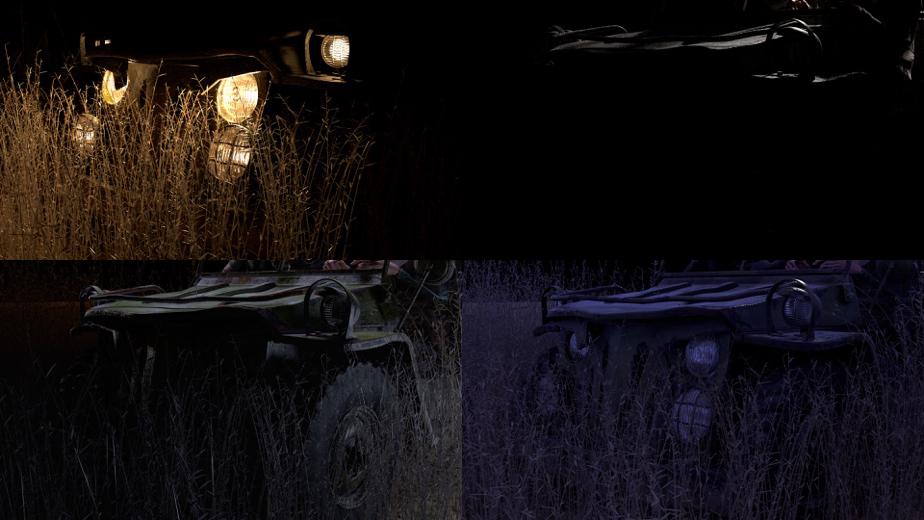Zombie Studio, Dream, jeep LightMix