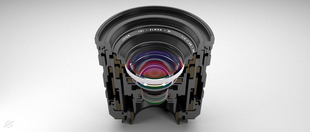 Bengamin Jerrems, Leica lens cutaway