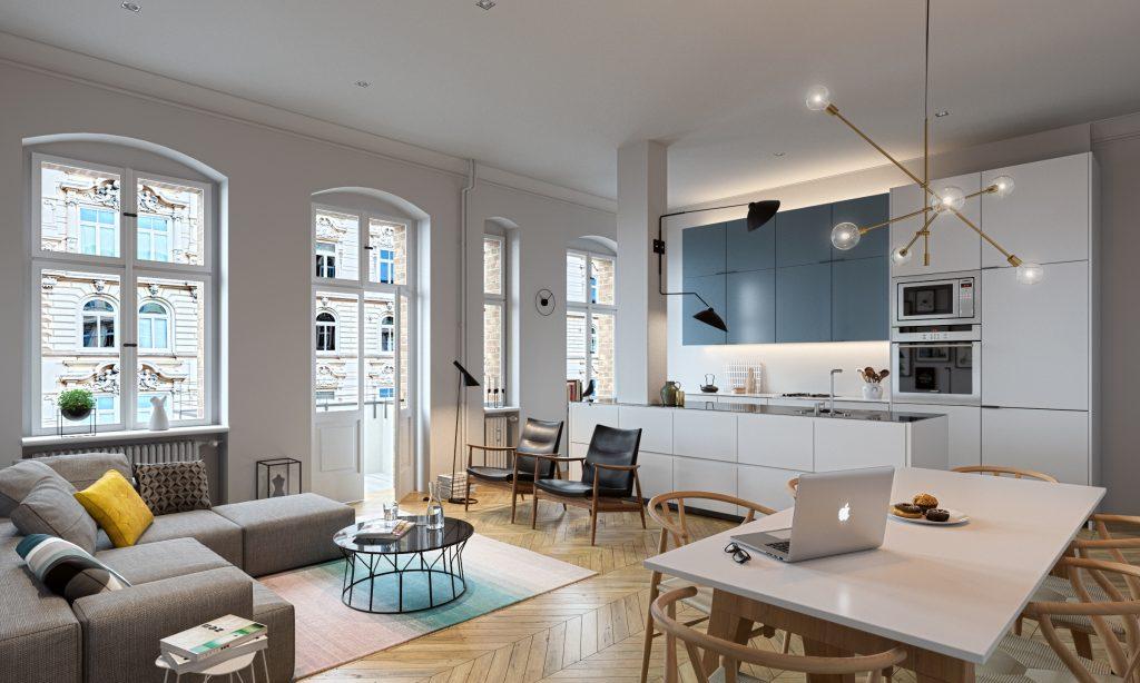 Oliver Wende, apartment reworked, bluecherstrasse, berlin