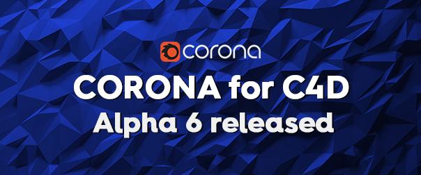 Corona for C4D A6 final