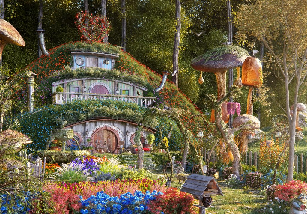 Hobbit House by Romie Valentino