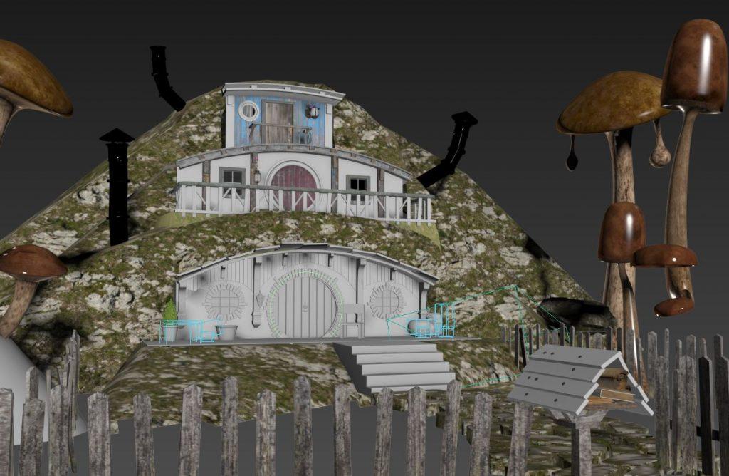 Hobbit House scene 01