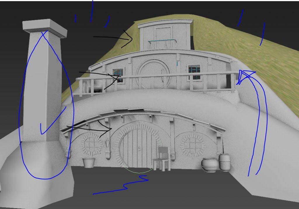 Hobbit House model