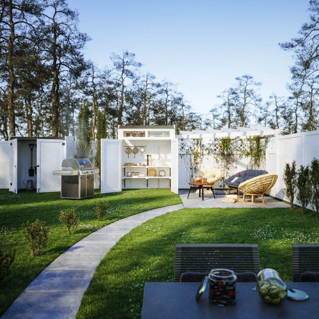 Saarnak, Ulaelu modular garden