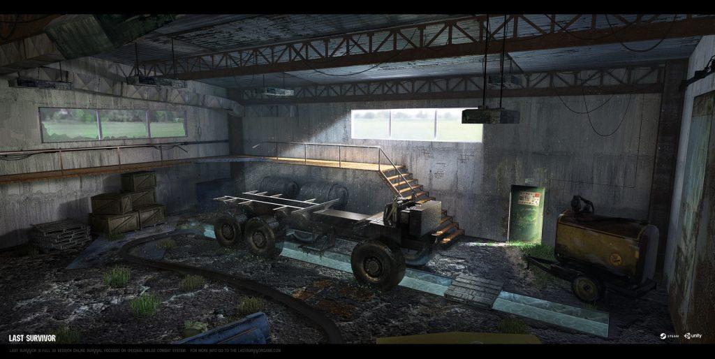 Fyodor, Last Survivor, interior concept 01