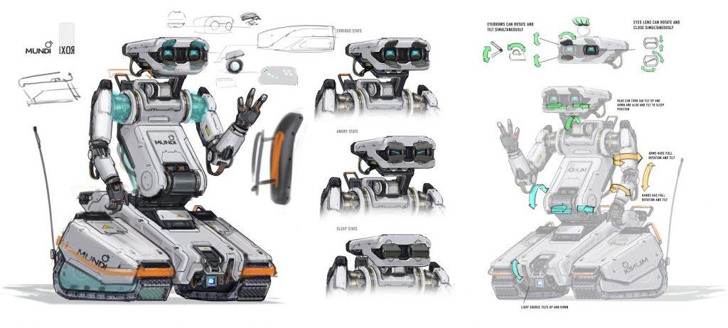 04 IXOR CG Robot Concept