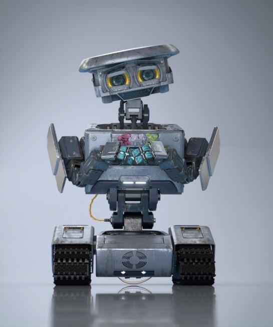 18 IXOR CG Robot Dennis Fun