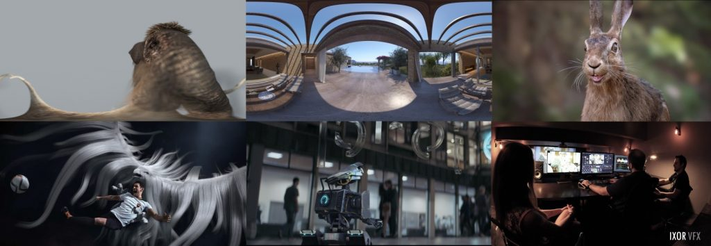 20 IXOR CG Robot Next Projects