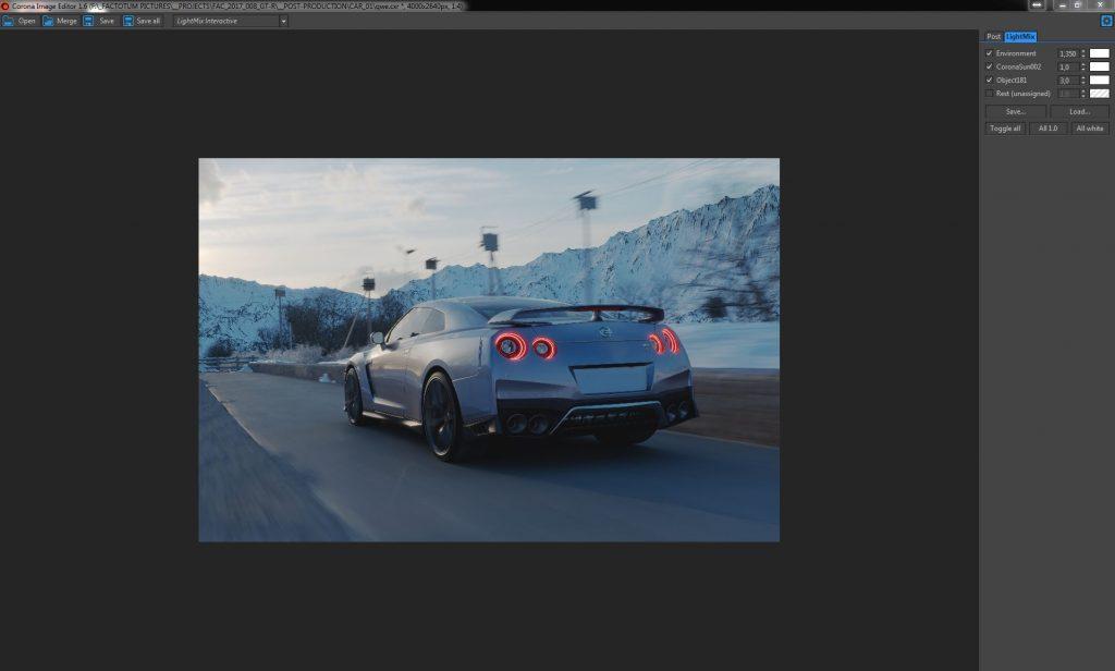 Factotum Pictures Nissan GT-R 2017 CIE