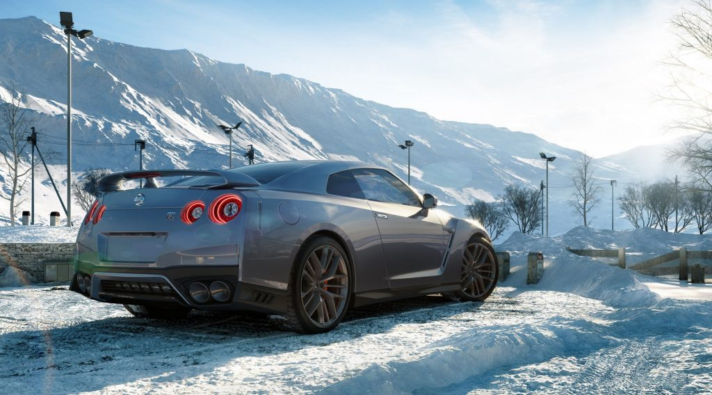 Factotum Pictures Nissan GT-R 2017 full size 02