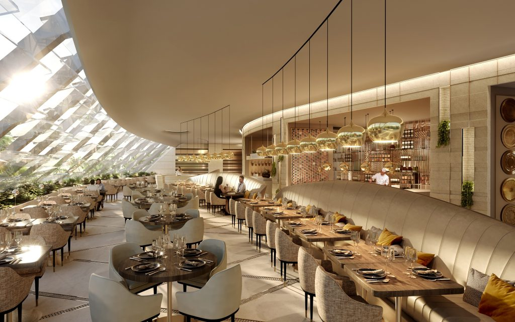 Luxurious Restaurant by Valentinstudio