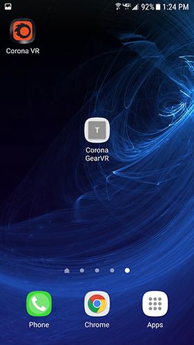 Corona GearVR icon