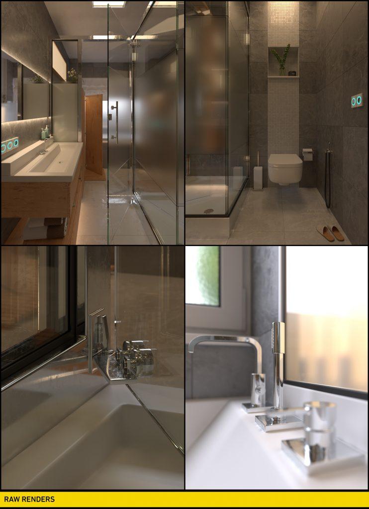 Mohammadreza Mohseni Nuremberg Bathroom raw renders