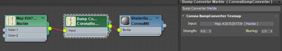 The Corona Bump Converter UI